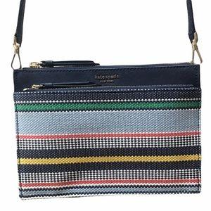 NWOT Kate Spade Bright Stripe Crossbody Purse Bag